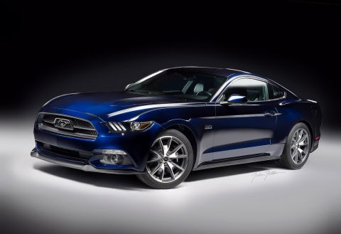 2015 Ford Mustang GT 50th Limited Edition