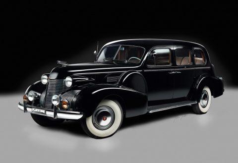 1939 Cadillac Fleetwood 75 Imperial