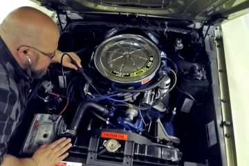 Classic car engine might need also mechanical noise listening